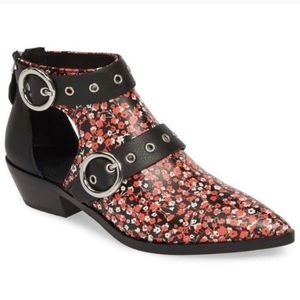 Rebecca Minkoff Kianna Floral Ankle Booties New